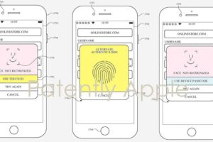 Apple patent portrays both Face ID and Touch ID on the same iPhone