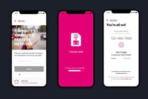 T-Mobile previews eSIM activation app for iPhone before December launch
