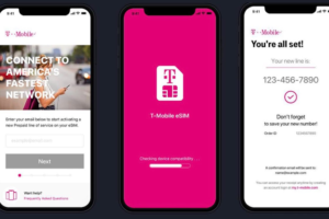 T-Mobile releases eSIM App for iPhone XS, XS Max, and XR