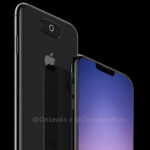 Another potential Triple-Lens Camera Design in 2019 iPhone displayed in renderings