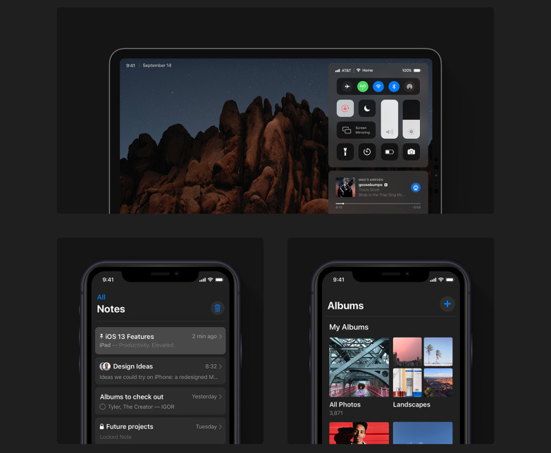 iOS 13 Dark Mode on iPhone and iPad