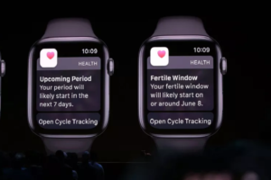 """Cycle Tracking"" with watchOS 6"
