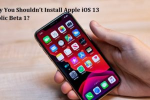 Install Apple iOS 13 Public Beta