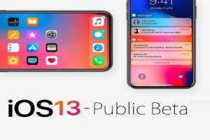 iOS-13-Public-Beta