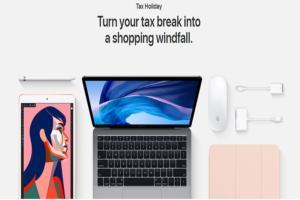 Apple Sales Tax Holidays