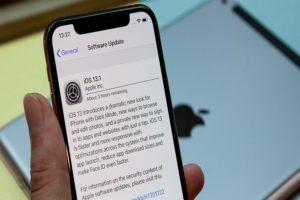 Install iOS 13.1