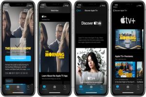 Apple TV Plus shows movies