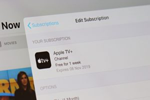 Cancel Apple TV Plus Subscription