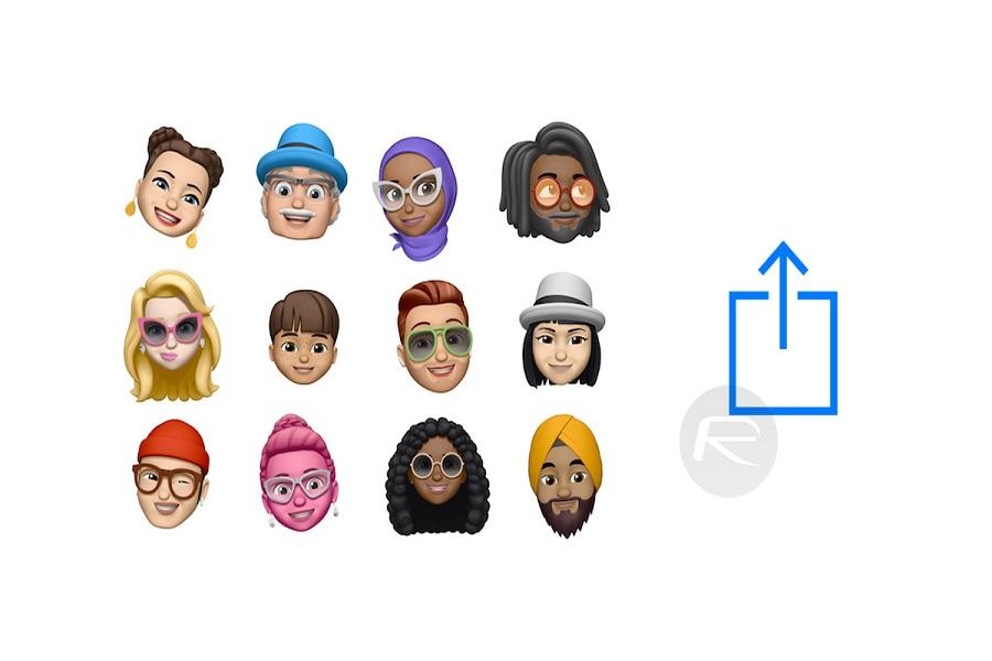 Send Memoji on WhatsApp in iOS 13 on iPhone