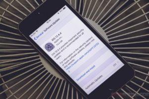iOS 12.4.4 update