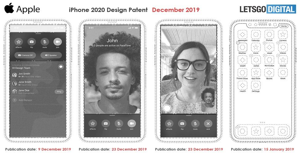 iPhone 2020 in display ID
