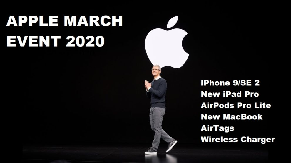 Apple March Special Event 2020
