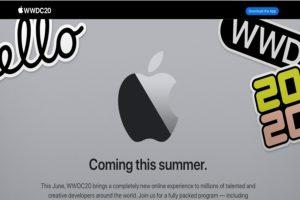 Apple WWDC 2020 June