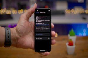 iOS-13.4 update