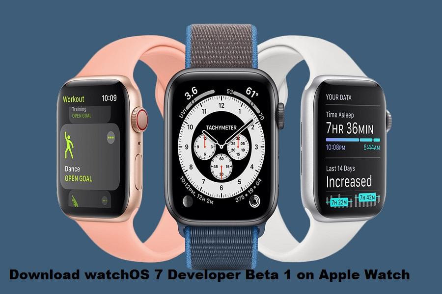 Download watchOS 7