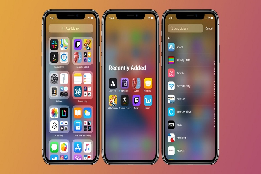New iPhone App Library in iOS 14