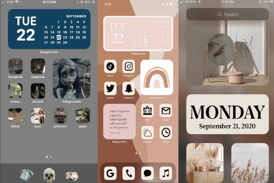 Aesthetic Home Screen iOS 14