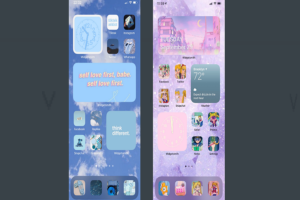 Cute iOS 14 Home Screen Ideas For Teens