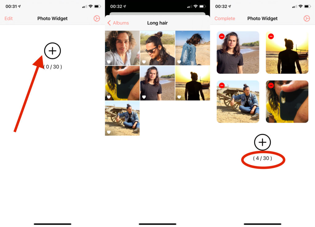 How to Select Specific Photos in iOS 14 Photo Widget