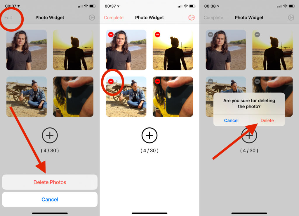 How to Edit and Select Particular Photos in iOS 14 Photo Widget