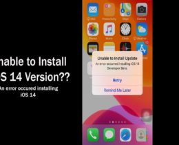 Unable To Install iOS 14 +