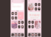 Aesthetic Pink iOS 14 Home Screen Ideas