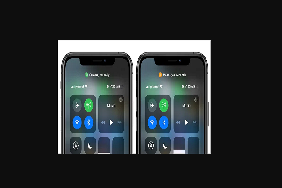 Green And Orange Dots On iOS 14