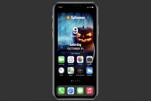 Halloween Widget on iOS 14