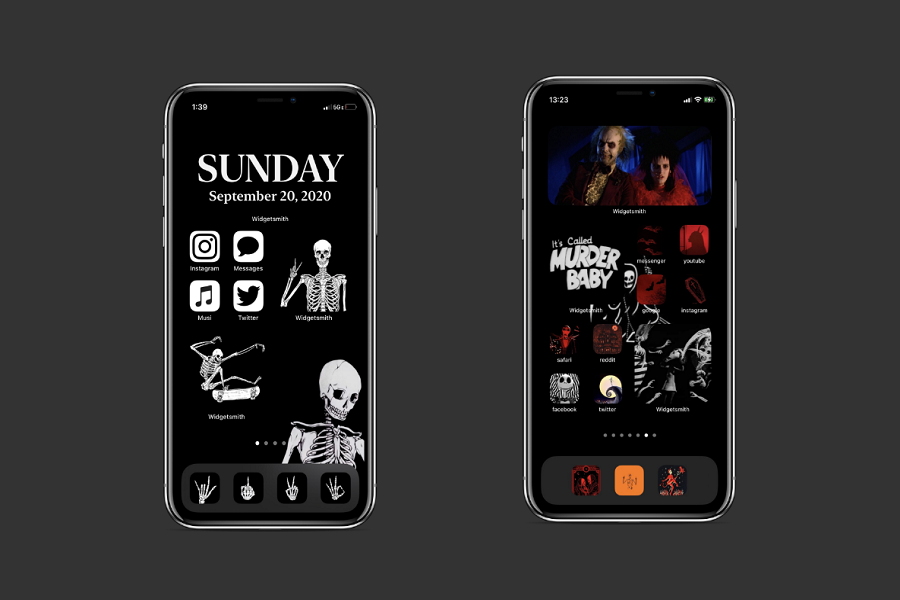 Halloween iOS 14 Home Screen