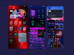 Make Neon Style iOS 14 Home Screen