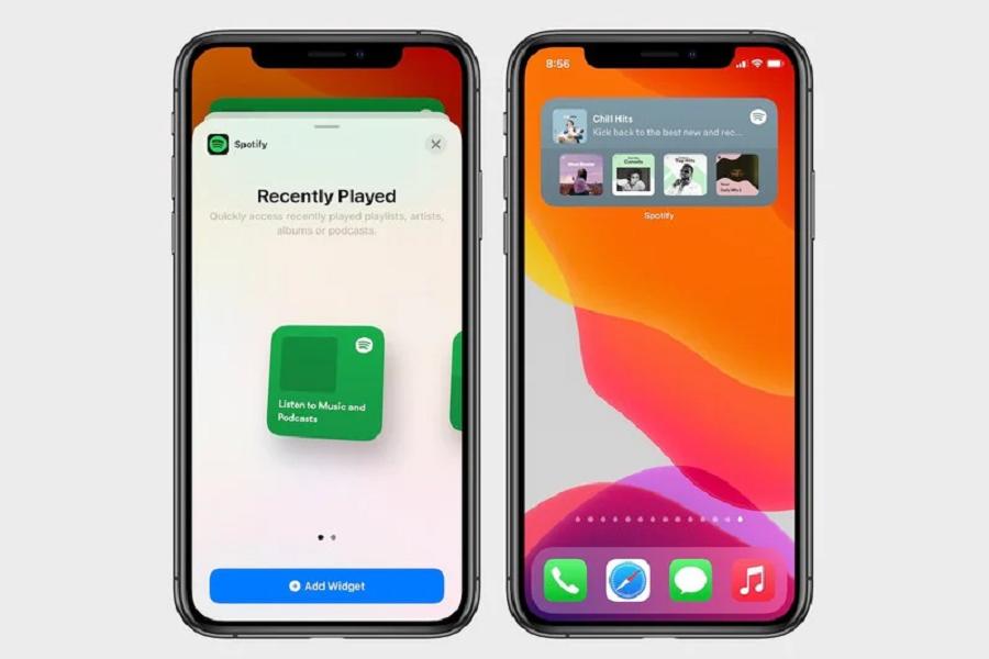 Spotify Widget To iOS 14
