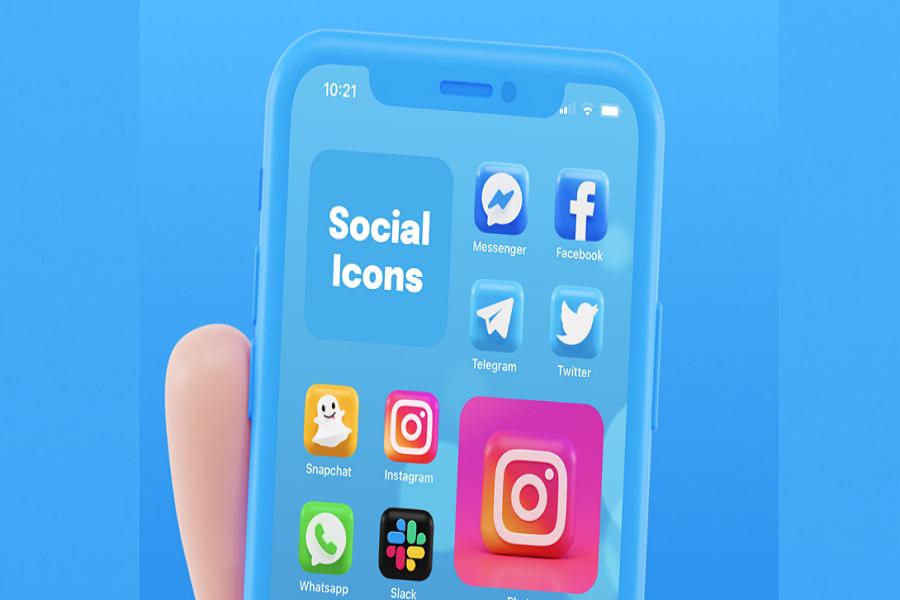 iOS 14 3D App Icons