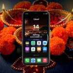 Diwali Countdown Widget on iPhone