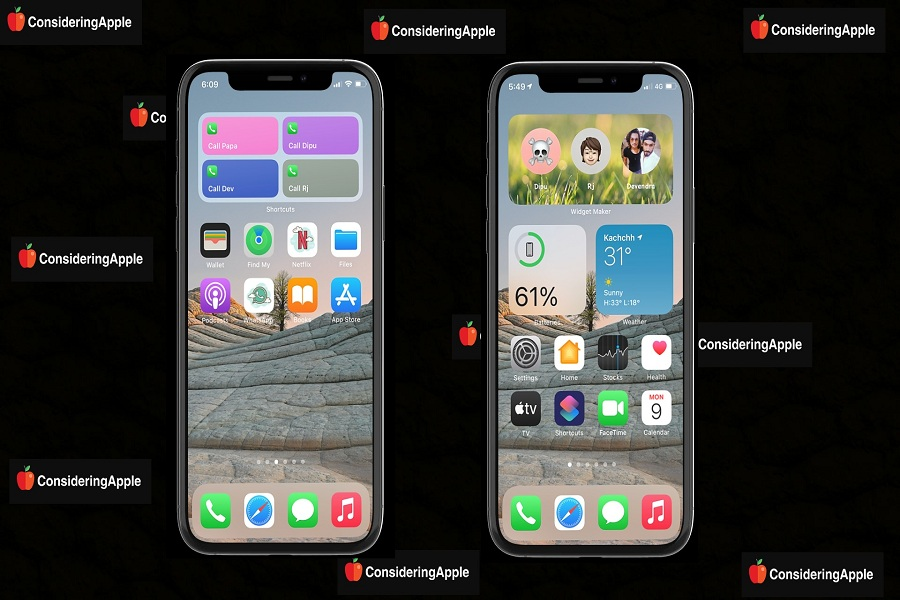 Add Favorite Contacts Widget To iPhone on iOS 14