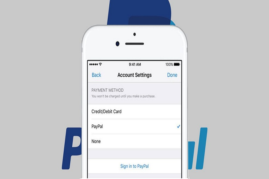 Add PayPal Payment iphone