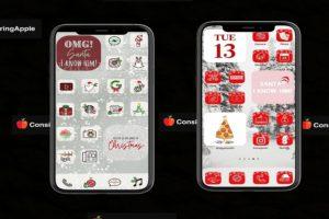 Christmas Home Screen Ideas