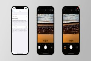 Enable ProRAW Photo Format on iPhone 12