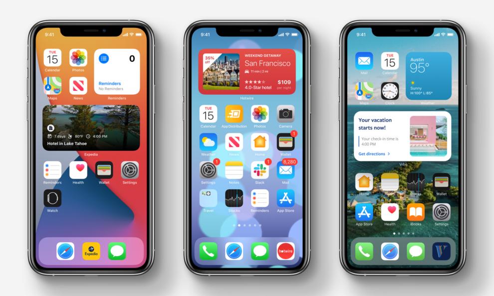 Popular iOS 14 Widgets