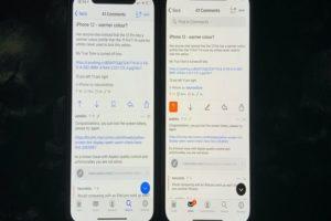 iPhone 12 Pro Yellow Screen Tint