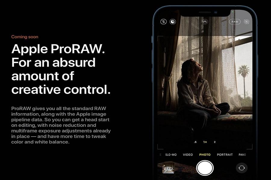 iPhone 12 ProRaw Photos