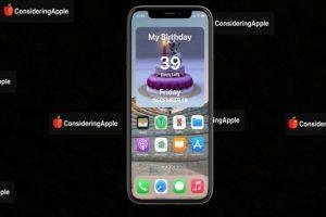 Birthday Countdown Widget iPhone