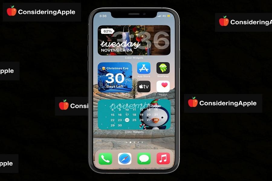 Christmas Widget ios 14 iphone