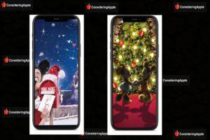 Disney Christmas iPhone Wallpapers