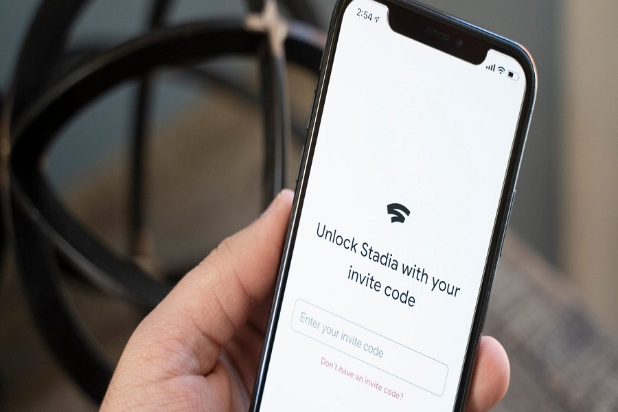 Google Stadia on iPhone