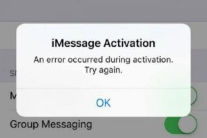 iMessage-Waiting-for-Activation ios 14