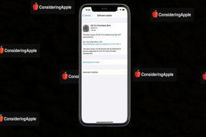iOS 14.4 Beta