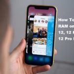 Clear RAM on iPhone 12