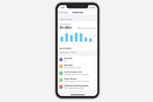 Disable Screen Time iOS 14