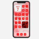 Red Icons For iOS 14