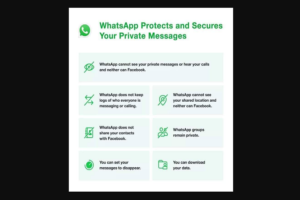 What will WhatsApp share